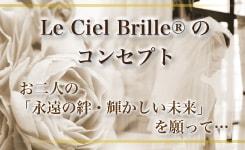 リングピロー専門店ルシエルブリレ 「Le Ciel Brille®のコンセプト」お二人の「永遠の絆・輝かしい未来」を願って…