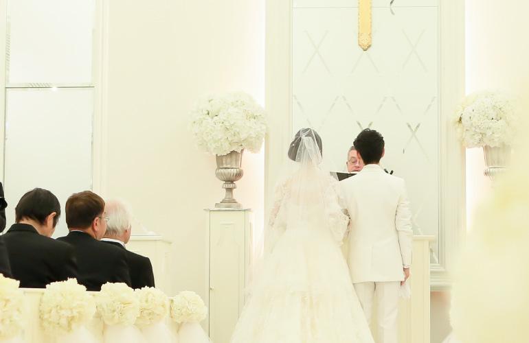 リングピロー専門店 ルシエルブリレ 「リングピローとは」 チャペル式(教会式)