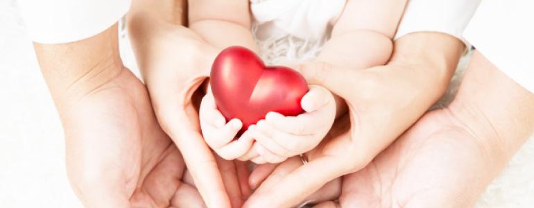 リングピロー専門店 ルシエルブリレ 「リングピローとは」 赤ちゃんと家族